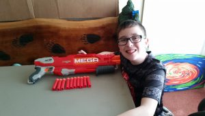 Jacob's Nerf N-Strike Elite DoubleBreach Blaster