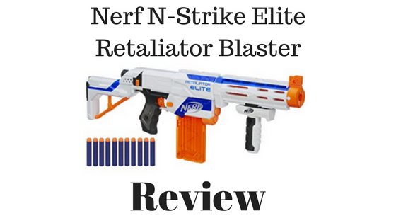 Nerf N-Strike Elite Retaliator Blaster Review