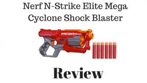 Nerf N-Strike Elite Mega Cyclone Shock Blaster Review