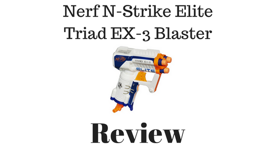 Nerf N-Strike Elite Triad EX-3 Blaster Review