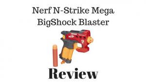Nerf N-Strike Mega BigShock Blaster Review