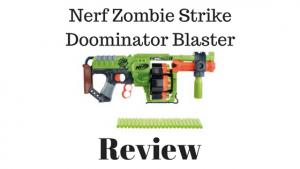 Nerf Zombie Strike Doominator Blaster Review