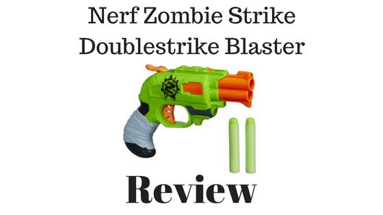 Nerf Zombie Strike Doublestrike Blaster Review