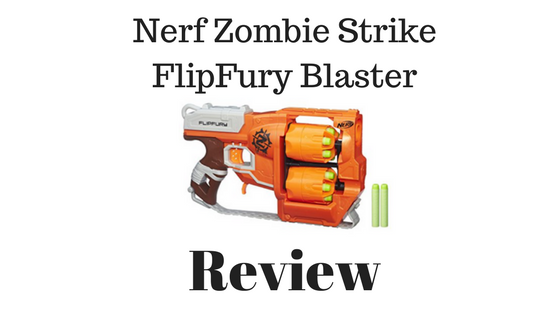 Nerf Zombie Strike FlipFury Blaster Review