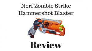 Nerf Zombie Strike Hammershot Blaster Review