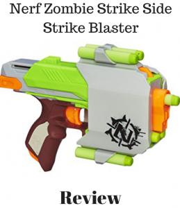 Nerf Zombie Strike Side Strike Blaster Review