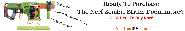 Ready To Purchase The Nerf Zombie Strike Doominator | NerfGunRUs.com