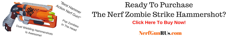 Ready To PurchaseThe Nerf Zombie Strike Hammershot   NerfGunRUs.com