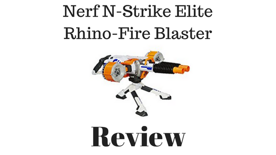 Nerf N Strike Elite Rhino Fire Blaster Review