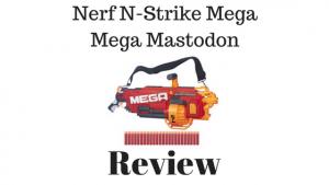 Nerf N-Strike Mega Mega Mastodon Review
