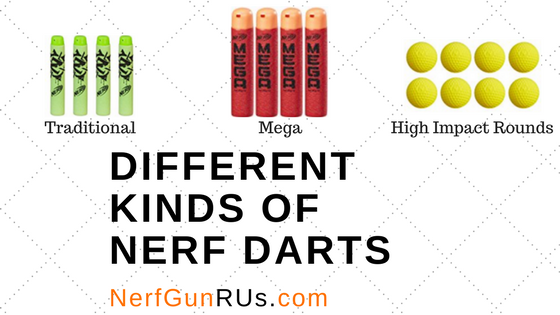 Different Kinds Of Nerf Darts