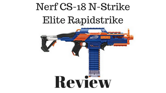 Nerf CS-18 N-Strike Elite Rapidstrike Review