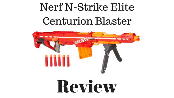 Nerf N-Strike Elite Centurion Blaster Review
