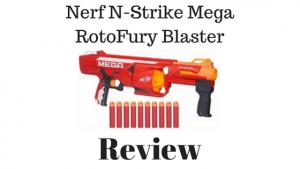 Nerf N Strike Mega RotoFury blaster review