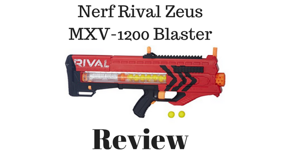Nerf Rival Zeus MXV-1200 Blaster Review