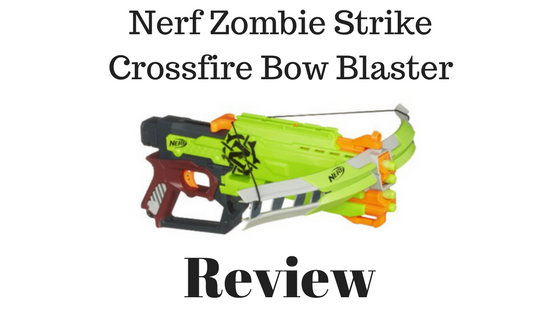 Nerf Zombie Strike Crossfire Bow Blaster Review