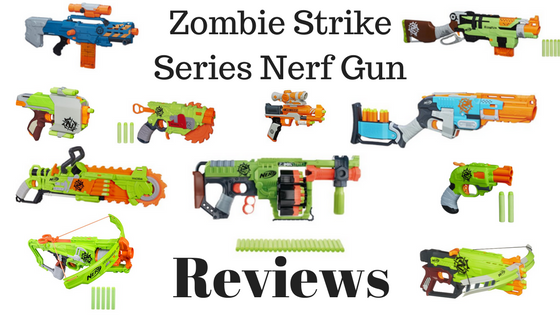 Nerf Zombie Strike ZED Squad Clear Shot Blaster Scope Gun Kids Toy Long Rang