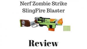 Nerf Zombie Strike SlingFire Blaster Review