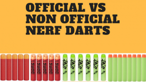 Official Vs Non Official Nerf Darts