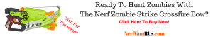 Ready To Hunt Zombies With The Nerf Zombie Strike Crossfire Bow   NerfGunRUs.com