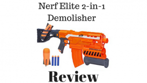 Nerf Elite 2-In-1 Demolisher Review