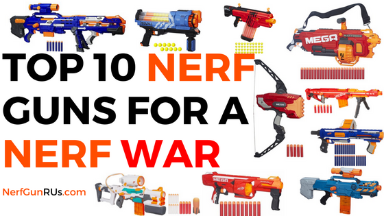 Help Spread The Word About NerfGunRUs.com On Social Media!
