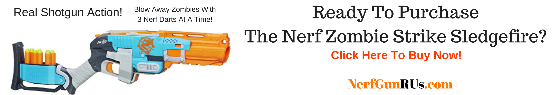 Ready To Purchase The Nerf Zombie Strike Sledgefire | NerfGunRUs.com