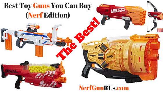 Long List Of Nerf Gun Reviews