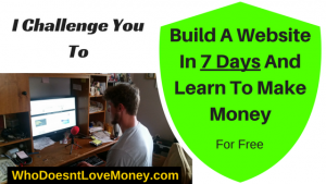 Build A Website In 7 Days And Learn To Make Money