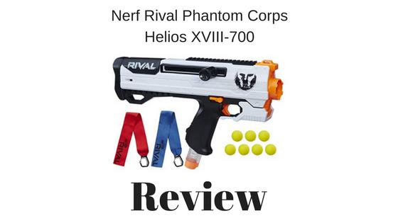 Nerf Rival Phantom Corps Helios XVIII-700 review