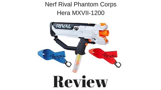 Nerf Rival Phantom Corps Hera MXVII-1200 review