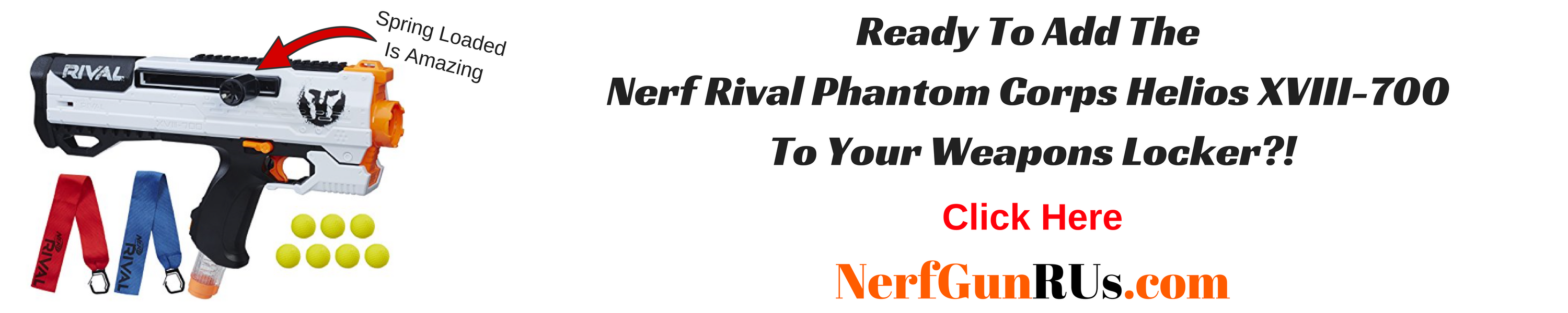 Ready To Add The Nerf Rival Phantom Corps Helios XVIII-700 To Your Weapons Locker | NerfGunRUs.com