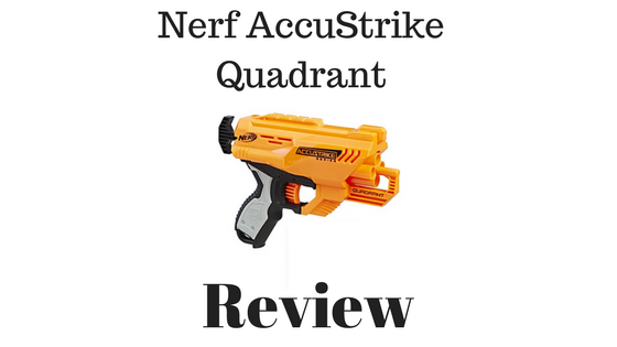 Nerf AccuStrike Quadrant review