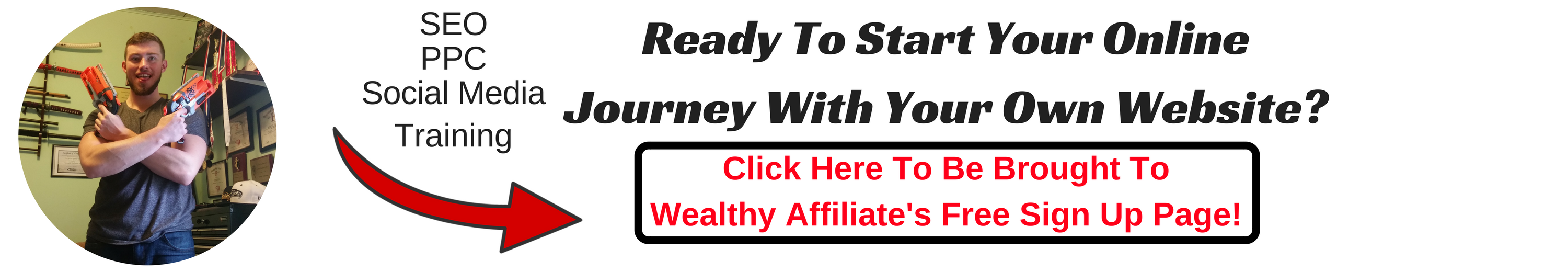 Ready To Start Your Online Journey With Your Own Website