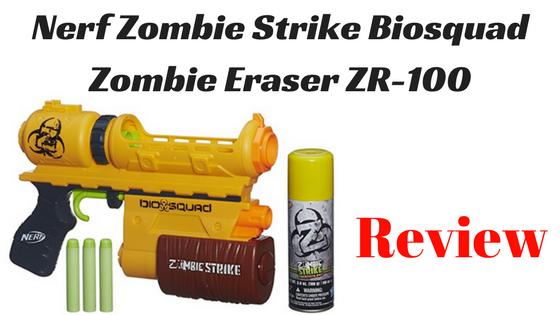 Nerf Zombie Strike Biosquad Zombie Eraser ZR-100 review