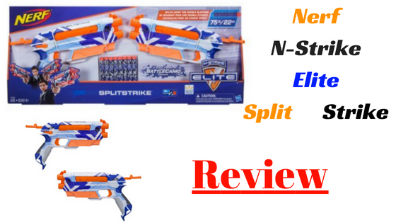Nerf N-Strike Elite Splitstrike review
