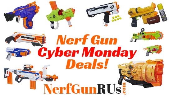 Nerf Gun Cyber Monday Deals | NerfGunRUs.com