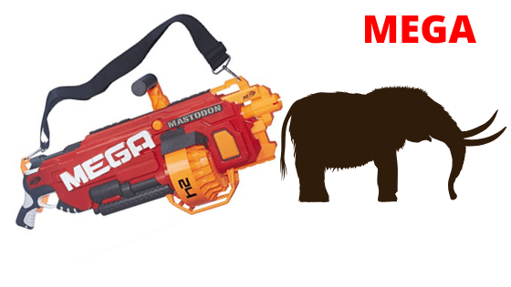 Nerf Mega Mastodon | Mastodon